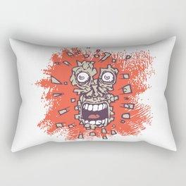 head crushed Rectangular Pillow