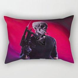 Cobra Skeleton Rectangular Pillow