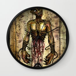 Gut Your Zombie Wall Clock