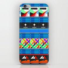NEX GEN BLUE iPhone & iPod Skin