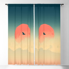 Lonesome Traveler Blackout Curtain