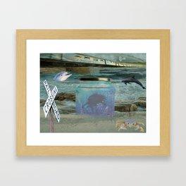 Mystic Beach Framed Art Print