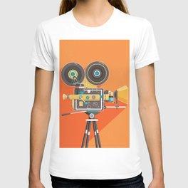 Cine: Orange T-shirt