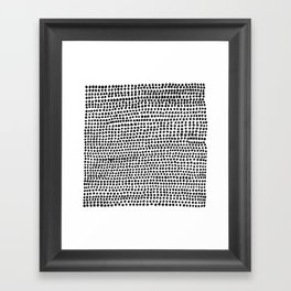 Strands Framed Art Print