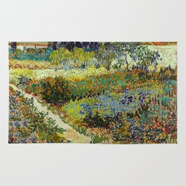 Vincent Van Gogh - Garden at Arles Rug