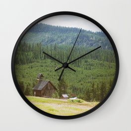 Forest Mountain Church Wall Clock