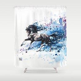 """""""Poseidon"""" Shower Curtain"""