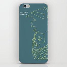 The Weeknd iPhone Skin