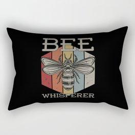 Bee Whisperer Rectangular Pillow