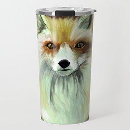 Pale Red Fox Travel Mug