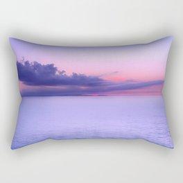 Sunset Indigo Mood Rectangular Pillow