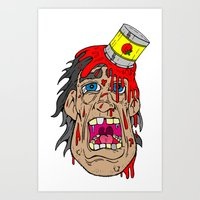gore Art Prints featuring gore by toonz