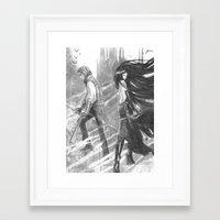 castlevania Framed Art Prints featuring castlevania by Oxxygene