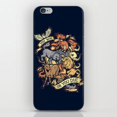 Win or Die iPhone & iPod Skin