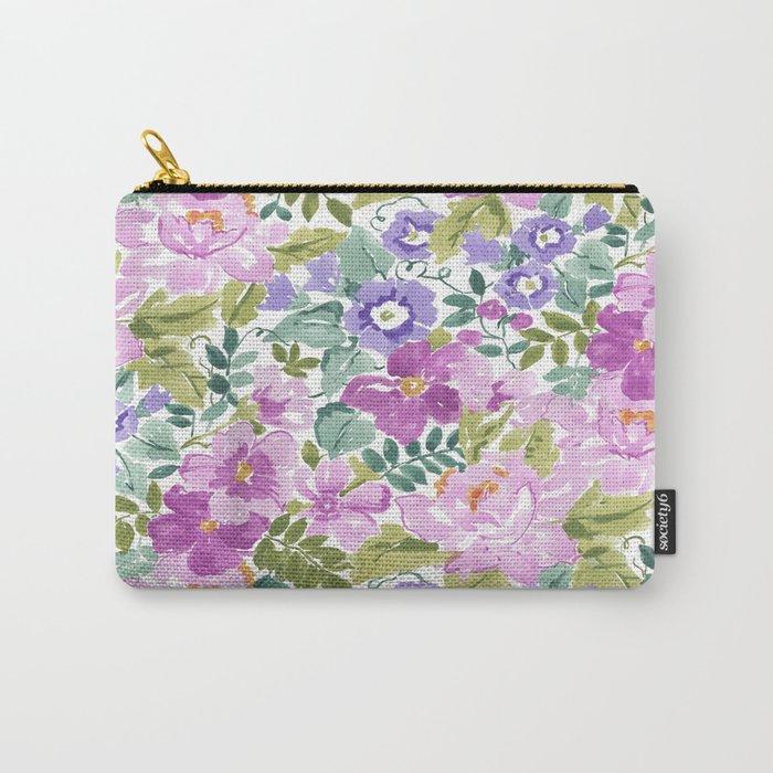 mixed garden Carry-All Pouch