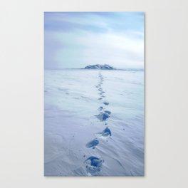 A Long Walk Canvas Print