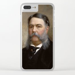 President Chester A. Arthur Painting Clear iPhone Case