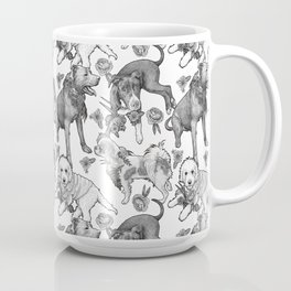 Fetching Florals Coffee Mug