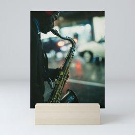 Mr. Sunshine under the Rain Mini Art Print