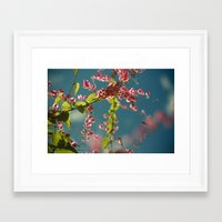 bees Framed Art Prints featuring bees. by wanderlust queen