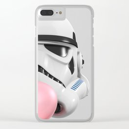 Stormtrooper Bubble Gum 02 Clear iPhone Case