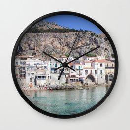 La Roca di Cefalu Wall Clock