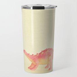 Pink Dinosaur Travel Mug