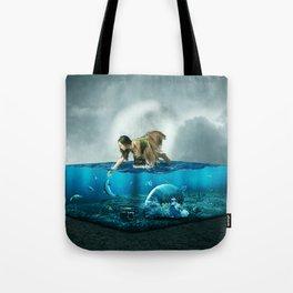 The lost Aquarium Tote Bag