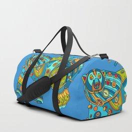Polar Bear, cool art from the AlphaPod Collection Duffle Bag