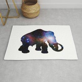 Galaxy Elephant Rug