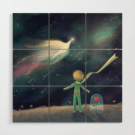 The Little Prince Wood Wall Art