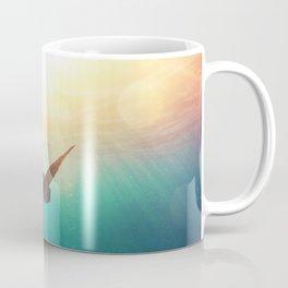 Sea Turtle - Underwater Nature Photography Coffee Mug