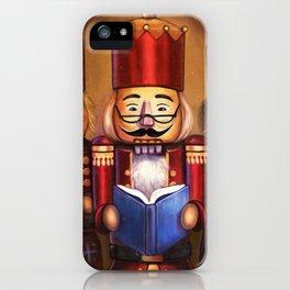 Festive Reading iPhone Case