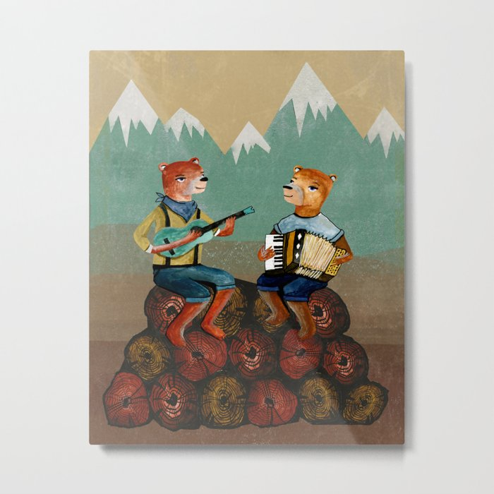 The Foresters Metal Print