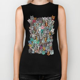 Gemstone Cats Biker Tank