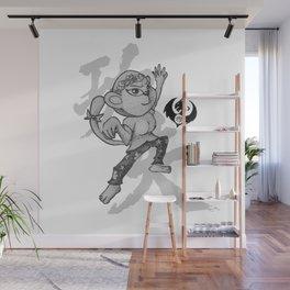 KungFu Zodiac - Monkey Wall Mural