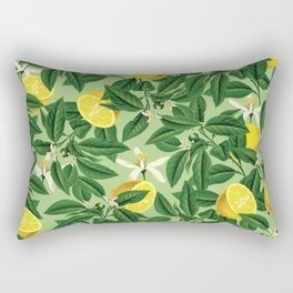 Lemonade || #society6 #decor #pattern Rectangular Pillow
