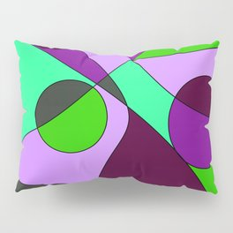 Abstract pattern Cuts Pillow Sham