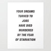 Your Dreams Art Print