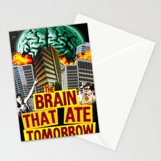 The Brain That Ate Tomorrow Stationery Cards