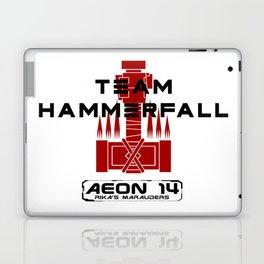 Team Hammerfall - Rika's Marauders - Black and Red Laptop & iPad Skin
