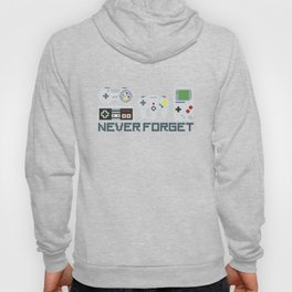 Never Forget - Game controllers Hoody