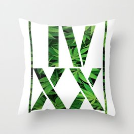 IV XX Throw Pillow