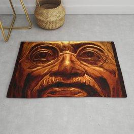 Gandhi - into the face Rug