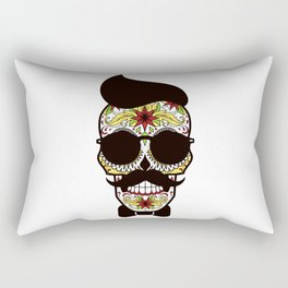 Mr. Sugar Skull Rectangular Pillow