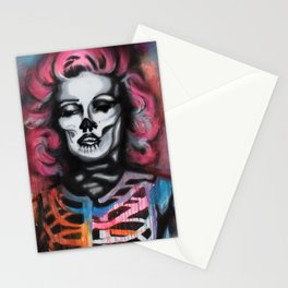 Madness is Genius Stationery Cards