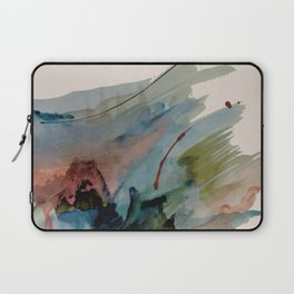 Begin again [2]: an abstract mixed media piece in a variety of colors Laptop Sleeve
