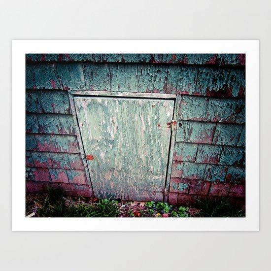 The Secret Door Art Print