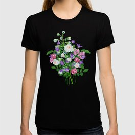 Roses and forest bells T-shirt