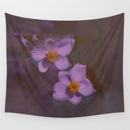Petals in Lavender  Wall Tapestry